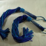 Leather floggers