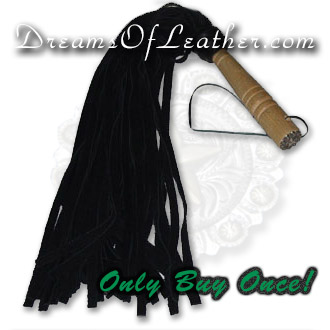 DOL Leather Flogger